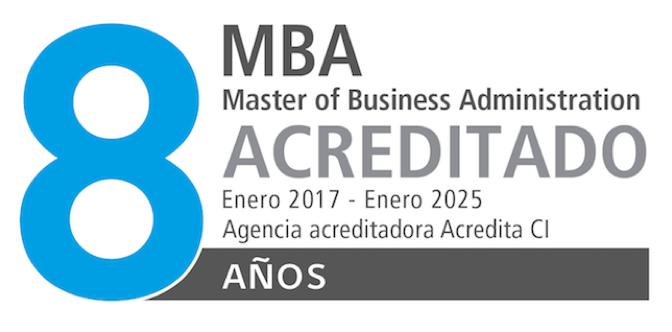MBA 8 años acreditado